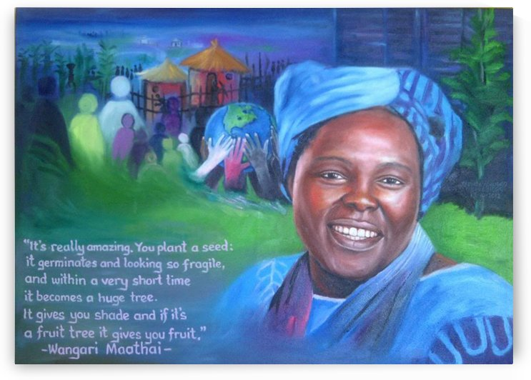 Wangari by Dr Stephen Achugwo