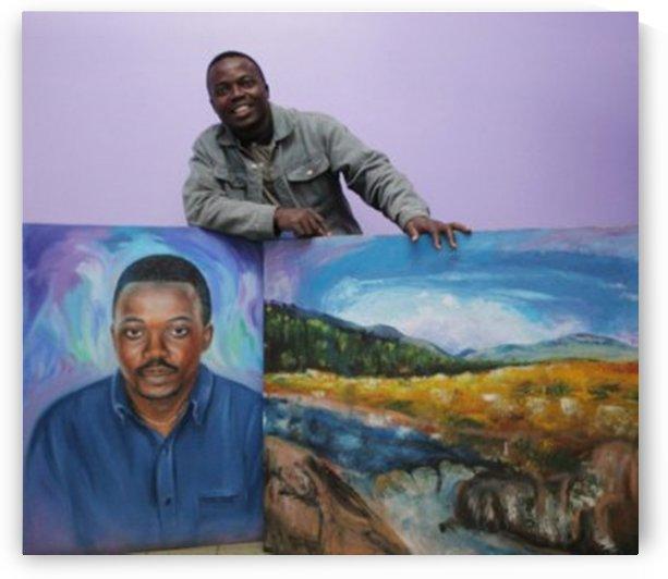 SelfPortrait3 by Dr Stephen Achugwo