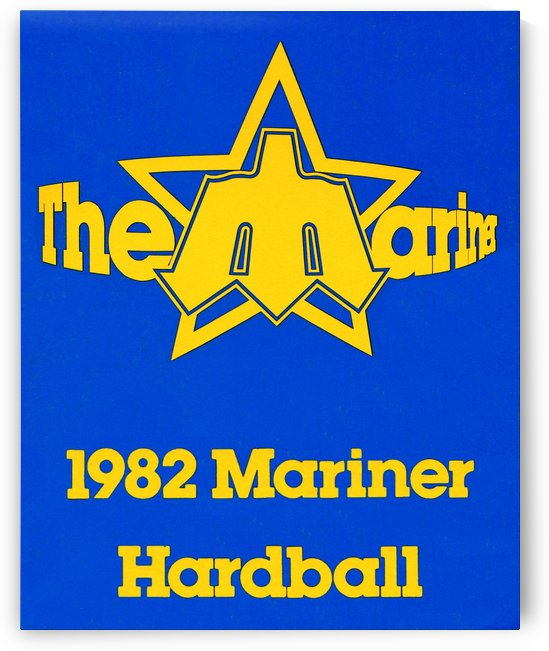1982 Seattle Mariner Hardball (2) by Row One Brand