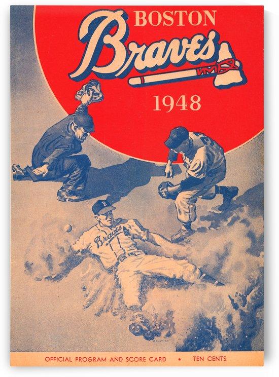 1948 Boston Braves by Row One Brand