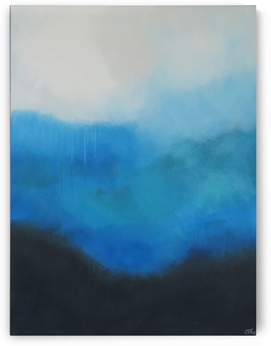 Tranquility Blue II. by Christopher Damien Fox