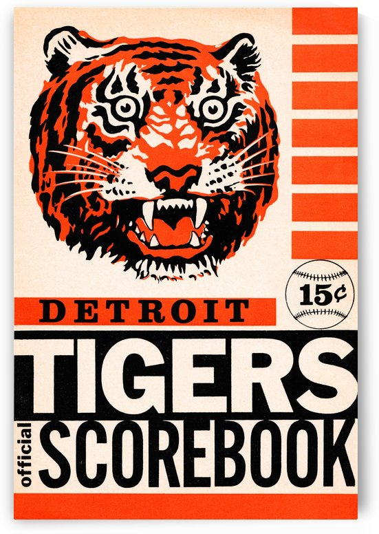 detroit tigers wall art (1) by Row One Brand