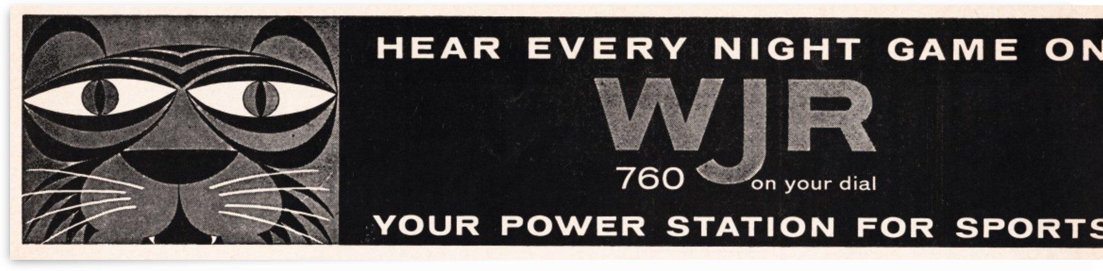 wjr am 760 detroit radio by Row One Brand