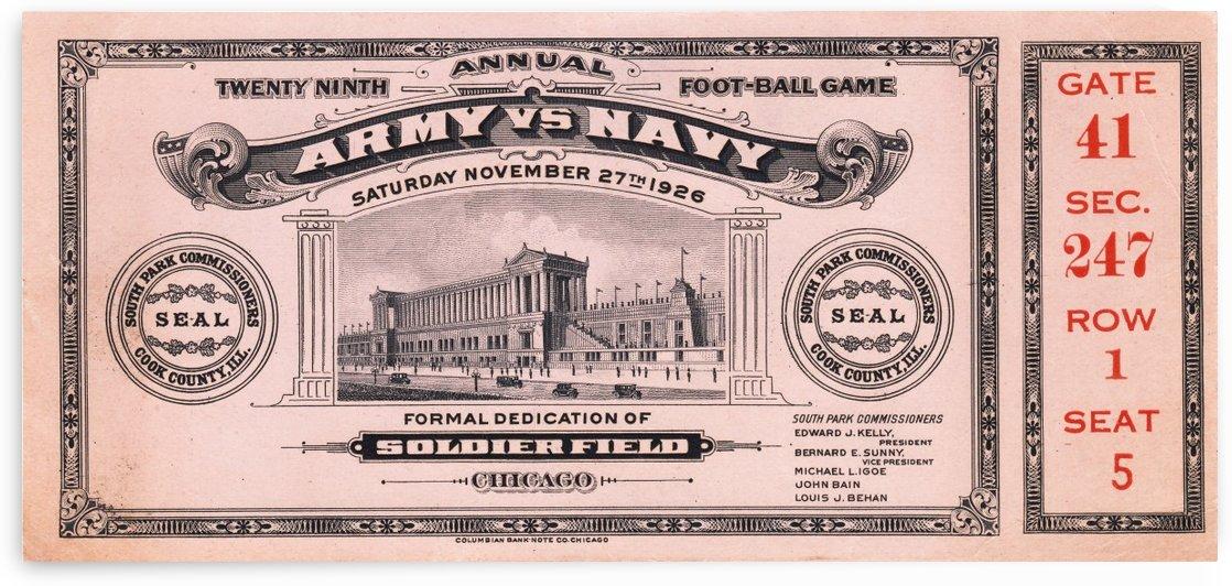 1926 Army vs. Navy by Row One Brand