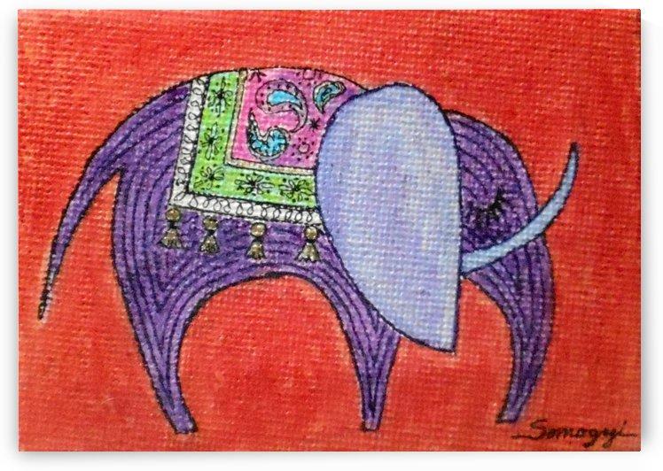 Pretty Pachyderm by Jayne Somogy