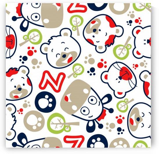 animals pattern_ by Shamudy