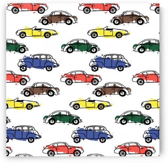 cars pattern by Shamudy