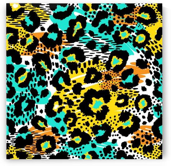 seamless leopard wild pattern animal print by Shamudy