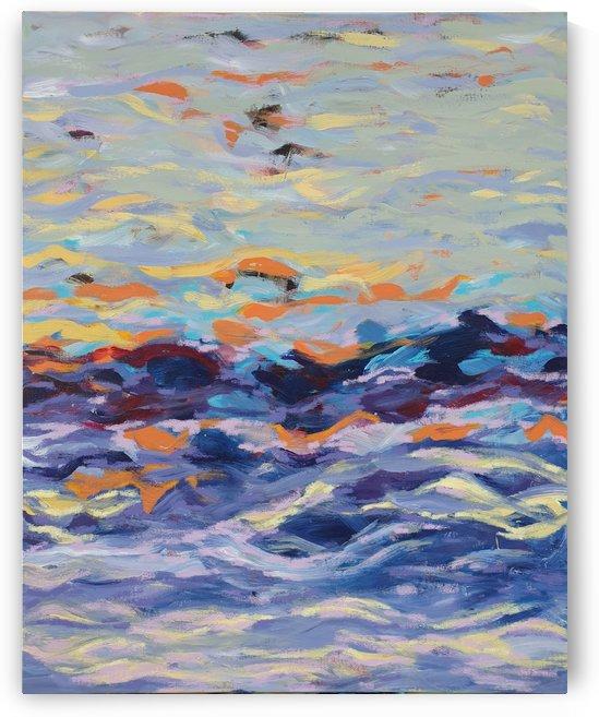 Windsurfing by Emy Thiran