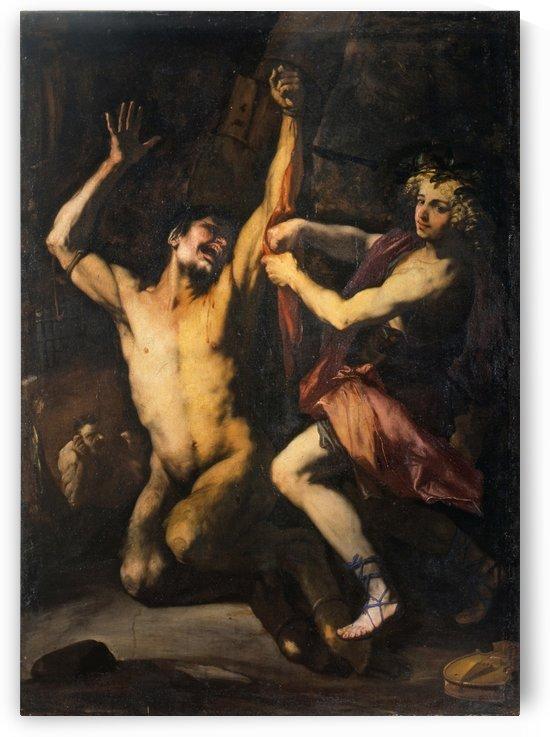 Apollo and Marsia by Luca Giordano