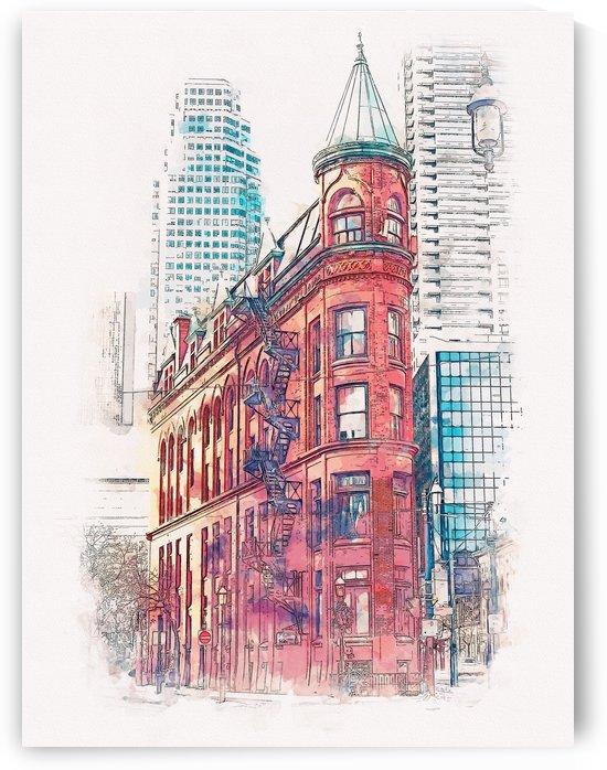 Gooderham Building Toronto CA 01 by Apolo Prints