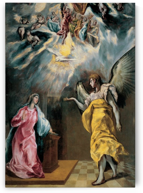 The Annunciation by Luca Giordano