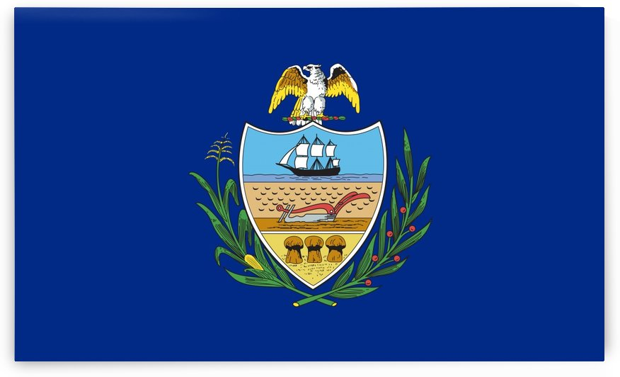 Allegheny County Pennsylvania Flag by Fun With Flags