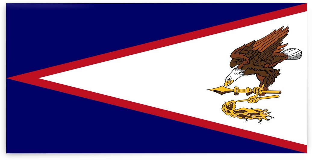 American Samoa Flag by Fun With Flags