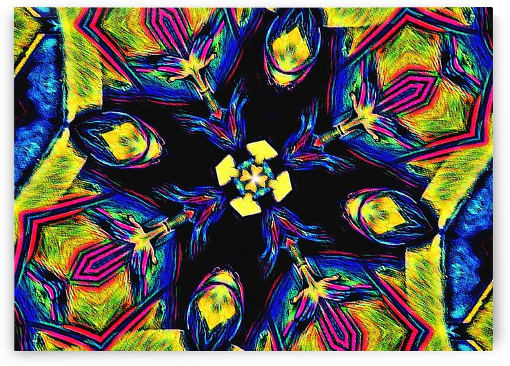 Pyschedelic Bloom by Frosty Jenson