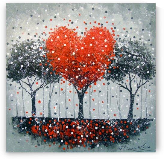 Love tree by Olha Darchuk