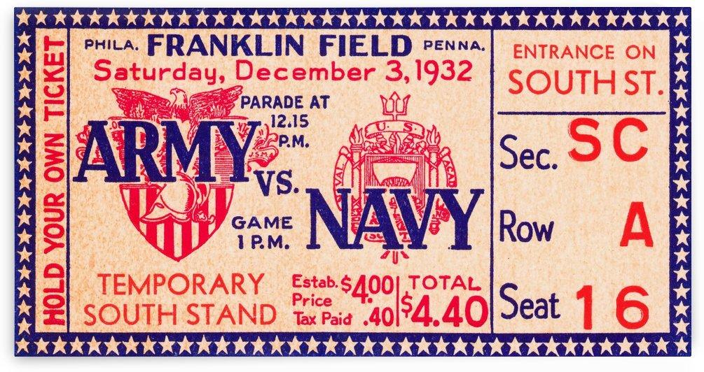 1932 Army vs. Navy by Row One Brand