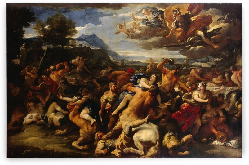 Battle Between the Lapiths and Centaurs by Luca Giordano