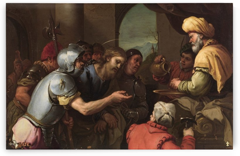 Pilate washing his hands by Luca Giordano