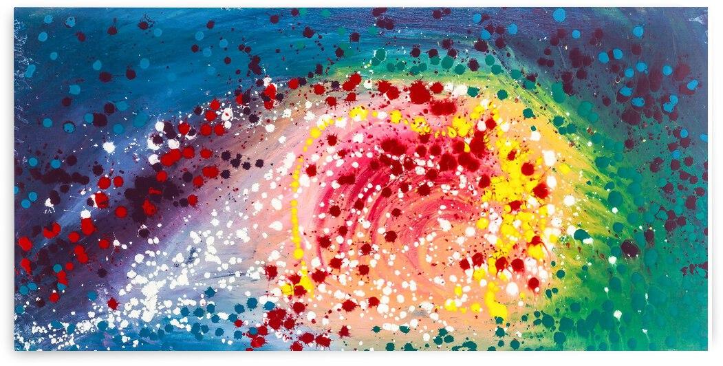 Dandelion Galaxy by Dianne Bartlett