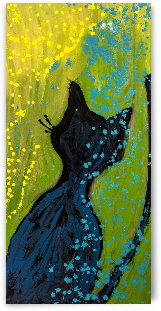 Sunshower Cat by Dianne Bartlett
