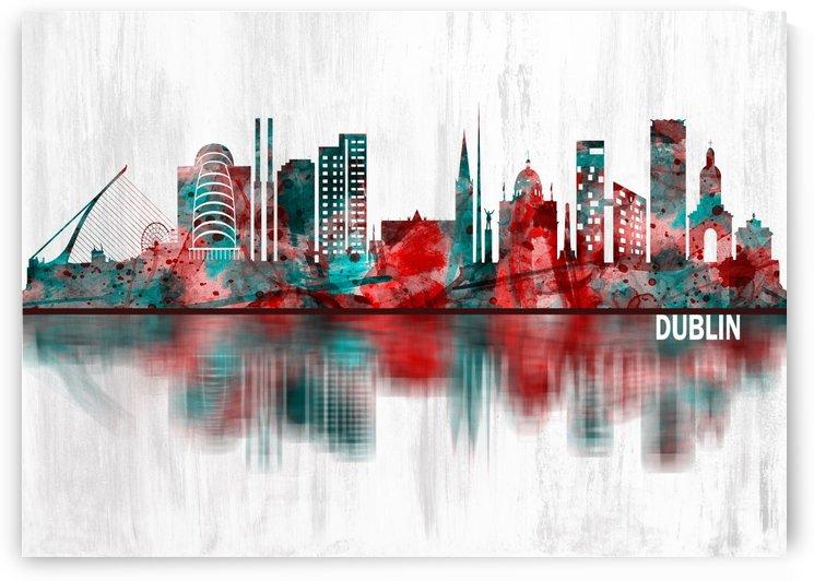 Dublin Republic of Ireland Skyline by Towseef Dar