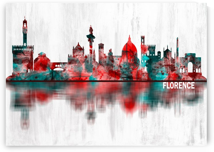 Florence Italy Skyline by Towseef Dar
