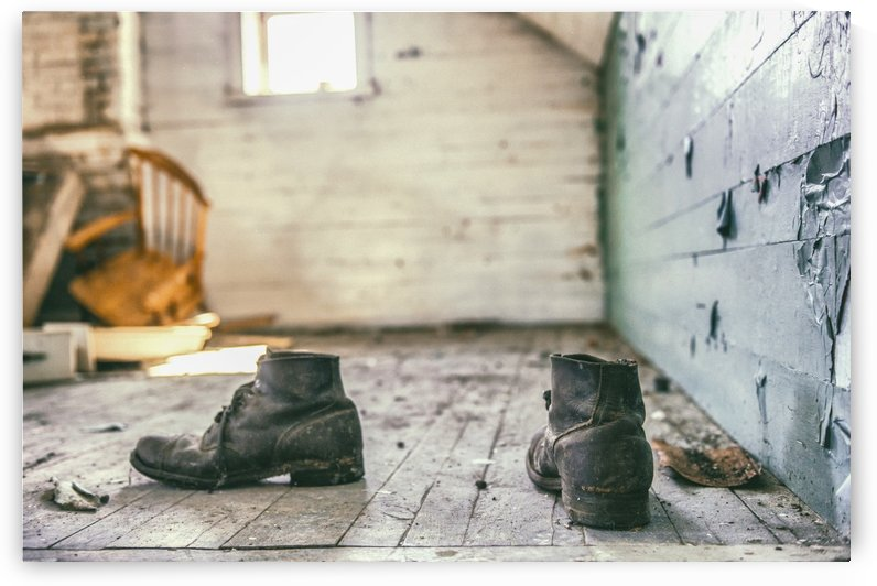 These boots are made for... by Marie-Andree Blais