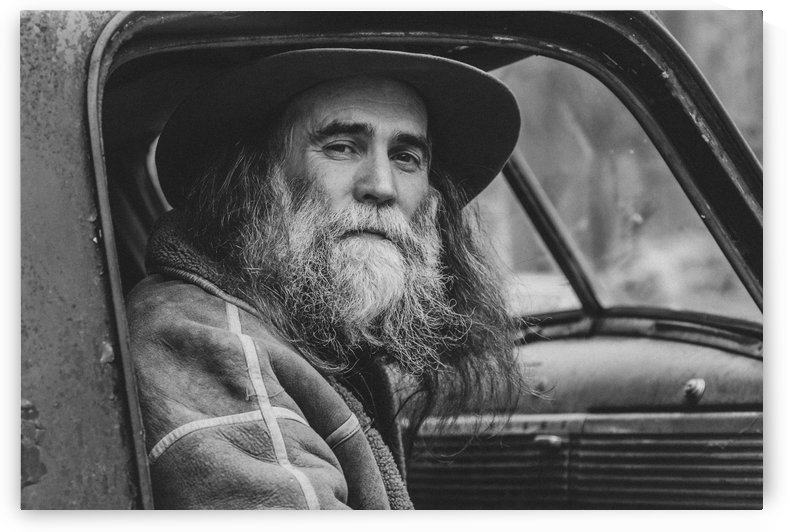 Old Man by Marie-Andree Blais