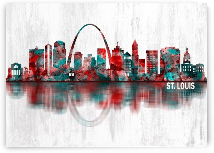 St. Louis Missouri Skyline by Towseef Dar