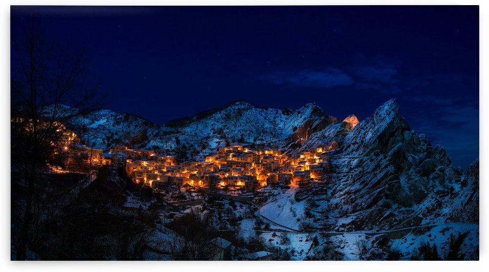 castelmezzano italy village town by Shamudy
