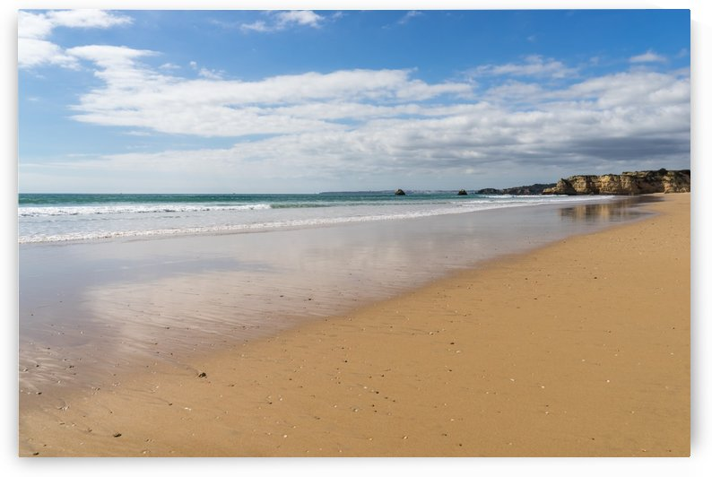 Gold Coast Algarve Classics - Vast and Glossy Praia da Rocha Beach at Low Tide by GeorgiaM