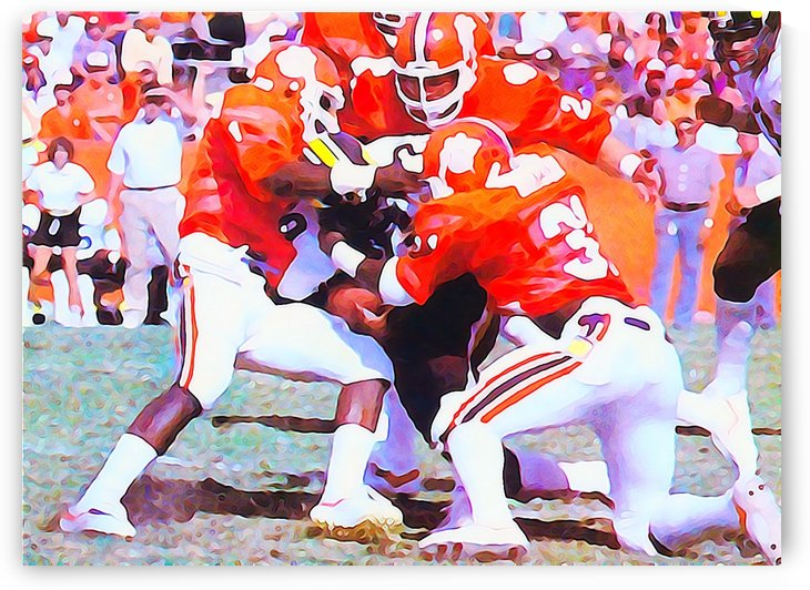 Clemson Gang Tackle by Row One Brand