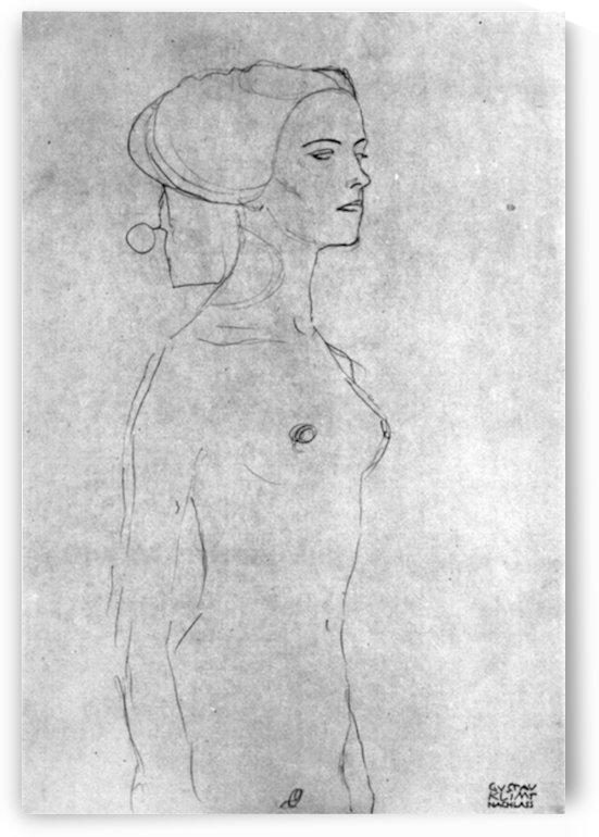 Half a picture to the right Schreitenden by Klimt by Klimt