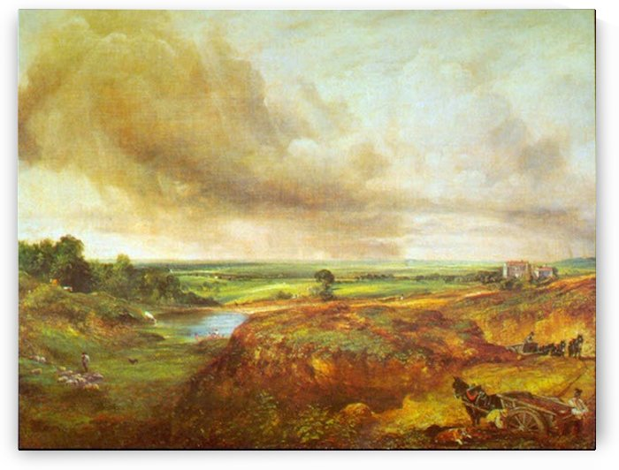 Hampstead Heath by Constable by Constable