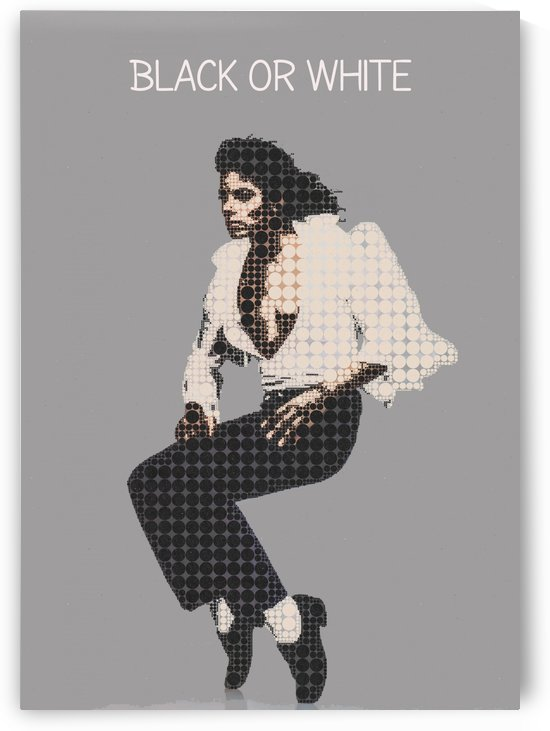 black or white michael jackson by Gunawan Rb