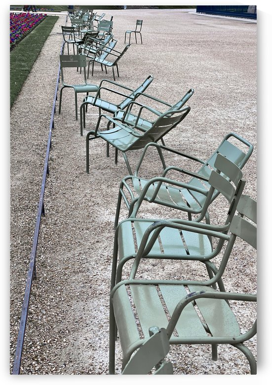 Chaises du Luxembourg   1 by Alain Harrus