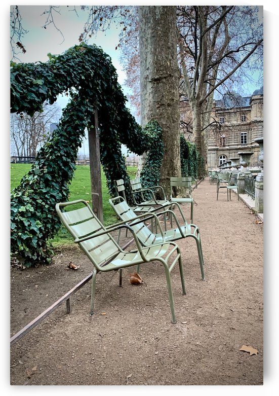 Chaises du Luxembourg   7 by Alain Harrus