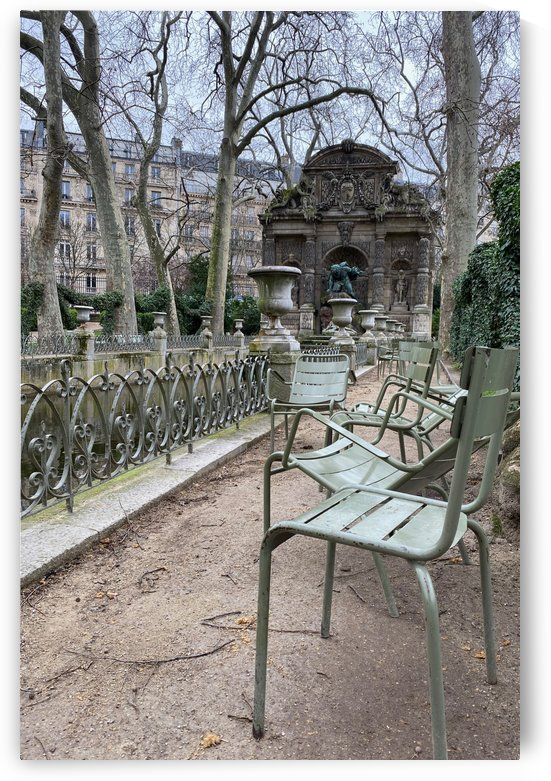 Chaises du Luxembourg   10 by Alain Harrus