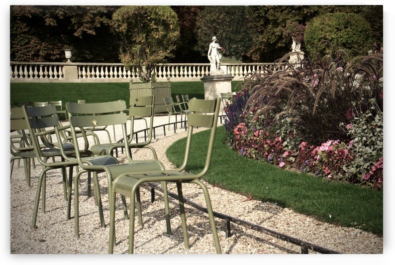 Chaises du Luxembourg   8 by Alain Harrus