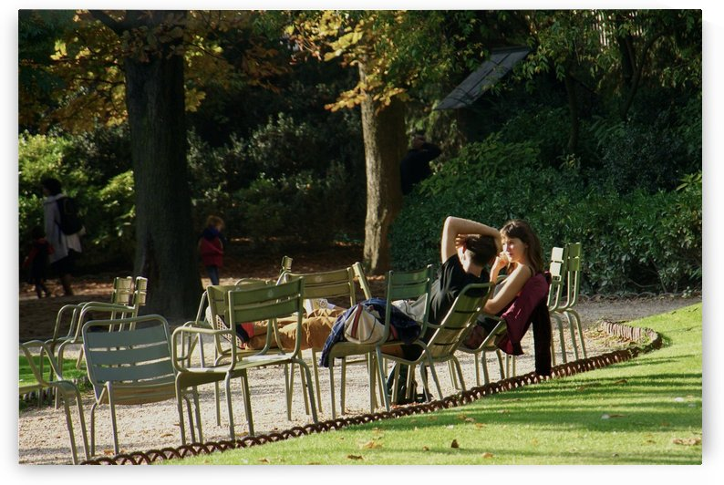 Chaises du Luxembourg   4 by Alain Harrus