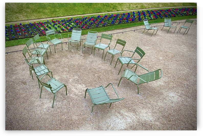 Chaises du Luxembourg   9 by Alain Harrus