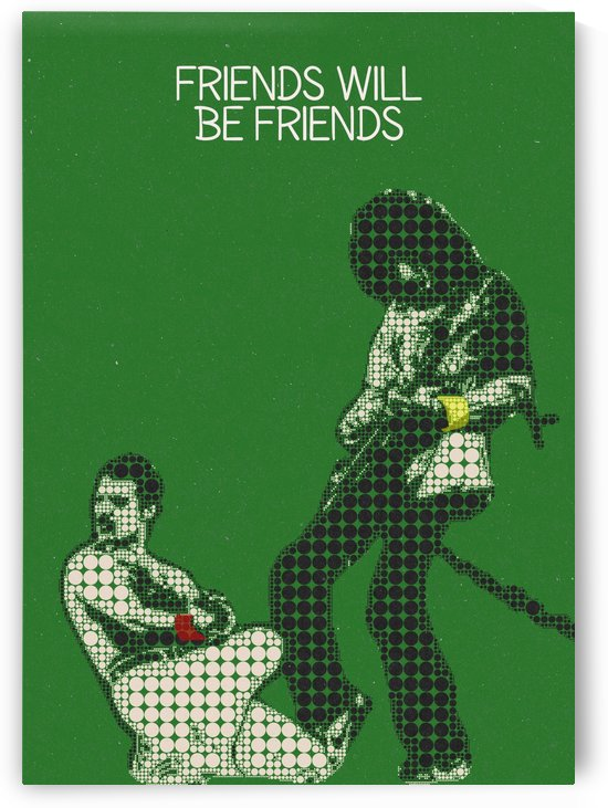 friends will be friends   Freddie Mercury & Brian May by Gunawan Rb