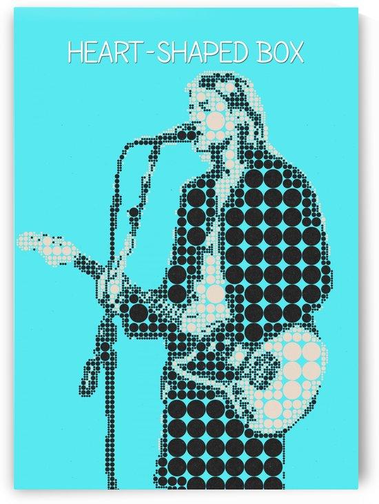 Heart Shaped Box   Kurt Cobain by Gunawan Rb