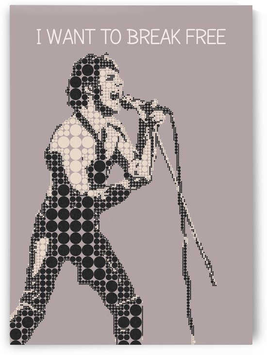 I Want To Break Free   Freddie Mercury by Gunawan Rb