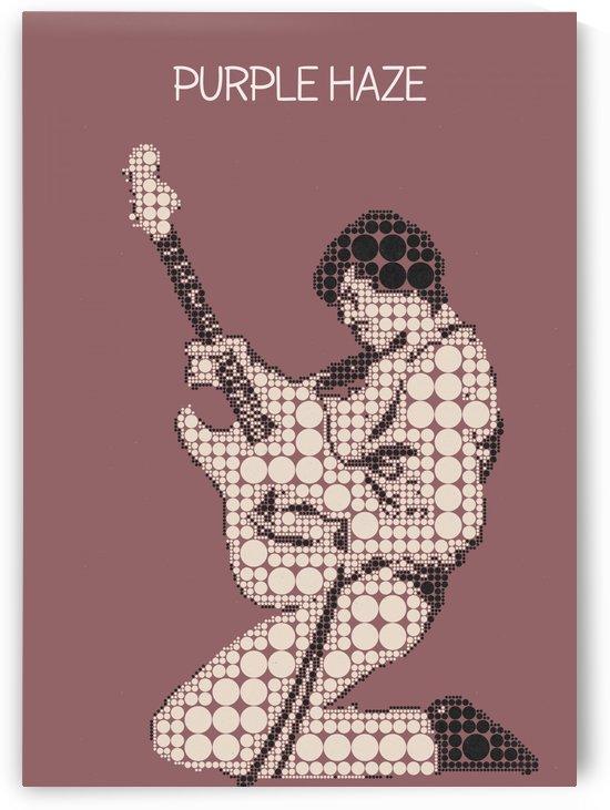 Purple Haze   Jimi Hendrix by Gunawan Rb