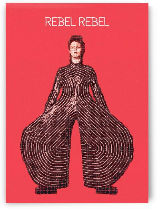 Rebel Rebel   David Bowie by Gunawan Rb
