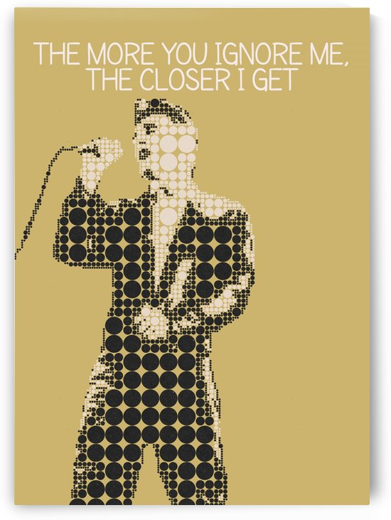 The More You Ignore Me The Closer I Get   Morrissey by Gunawan Rb