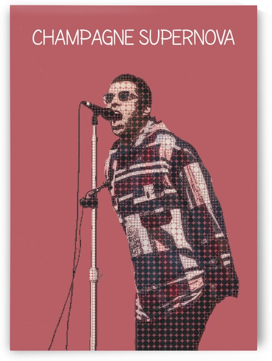 liam gallagher   Oasis   Champagne Supernova by Gunawan Rb