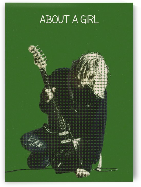 Kurt Cobain   nirvana about a girl by Gunawan Rb